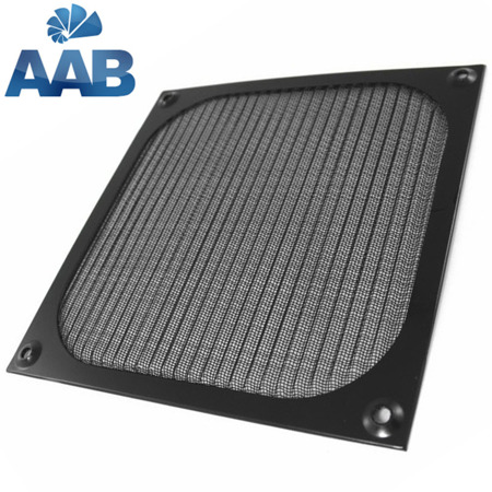AAB Cooling Aluminiowy Filtr/Grill 92 Czarny