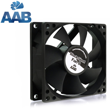 AAB Cooling Black Silent Fan 8 2000rpm