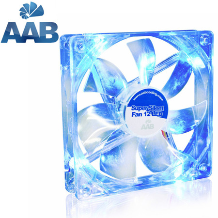 AAB Cooling Super Silent Fan 12 BLUE LED