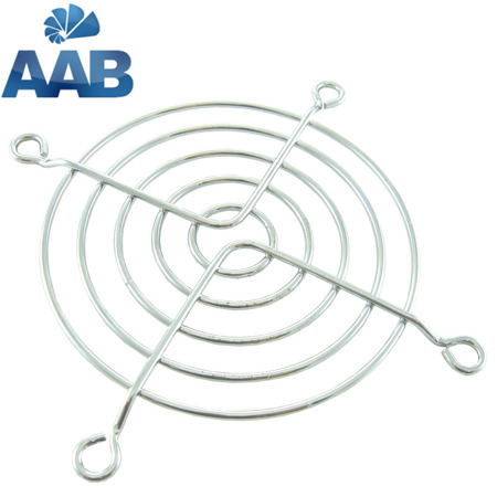 AAB Cooling - Grill 80 Silver chrome