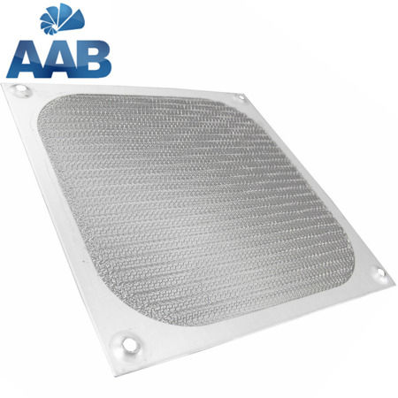 AAB Cooling Aluminiowy Filtr/Grill 140 Srebrny