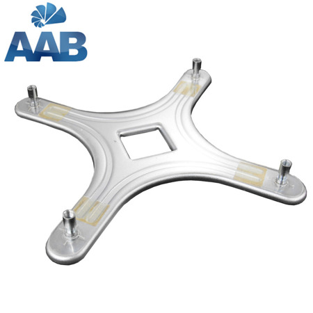 AAB Cooling BP775 Back Plate Silver