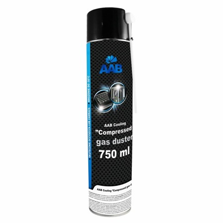 AAB Cooling Compressed gas duster 750ml