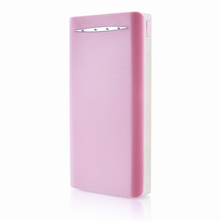 NonStop PowerBank Sella Różowy 16000mAh